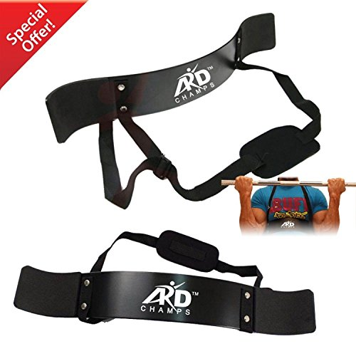 ARD-Champs Heavy Duty Arm Blaster Body Building Bomber Bicep Curl Triceps New