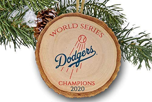 Los Angeles D O D G E R S 2020 World Series Champions Championship Christmas Ornament Dodgers Pro Baseball Vintage Logo Order By 15th For Christmas Delivery Handmade