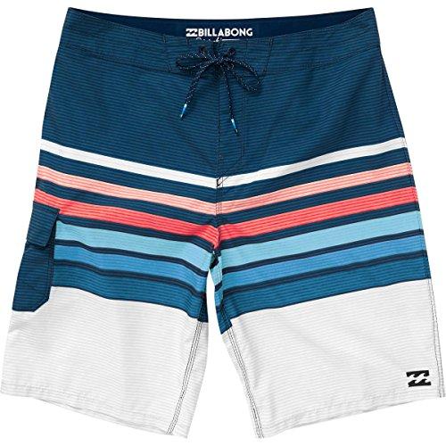 All Day OG Stripe Boardshort, Navy, 26 (Billabong Boys Clothing)