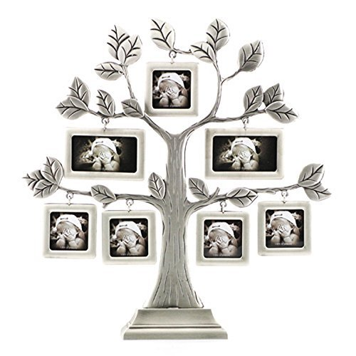 Family Photo Frame Tree Picture Frame Decorative Table Top for Holiday