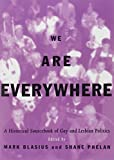 img - for We Are Everywhere: A Historical Sourcebook of Gay and Lesbian Politics book / textbook / text book