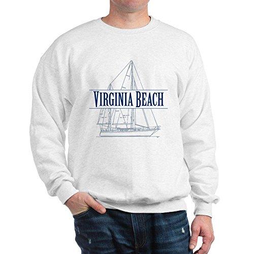 7bec6514c50c2 CafePress – Virginia Beach – Sweatshirt – Classic Crew Neck Sweatshirt