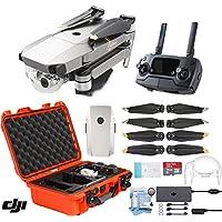 DJI Mavic Pro Platinum Drone with Custom Nanuk Waterproof Hard Case (Orange)