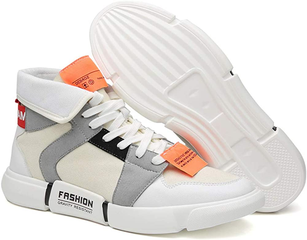 Canvas Hightop Sneakers Unisex Casual Outdoor Go Easy Walking Shoes