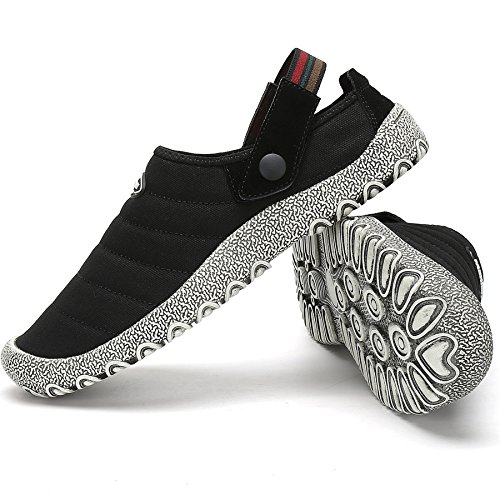 Nero katliu Casual Antiscivolo All'aperto Traspirante Uomini Tempo Sabot Sandali Ciabatte Scarpe Pantofole da Libero Pantofole Donne wHaHxZ