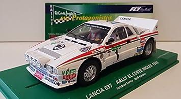Slot SCX Scalextric Fly 99088 Lancia 037 Rally El Corte Inglés 1986 Serviá