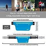 Ultra Slim Fanny Packs Running Belt, Water