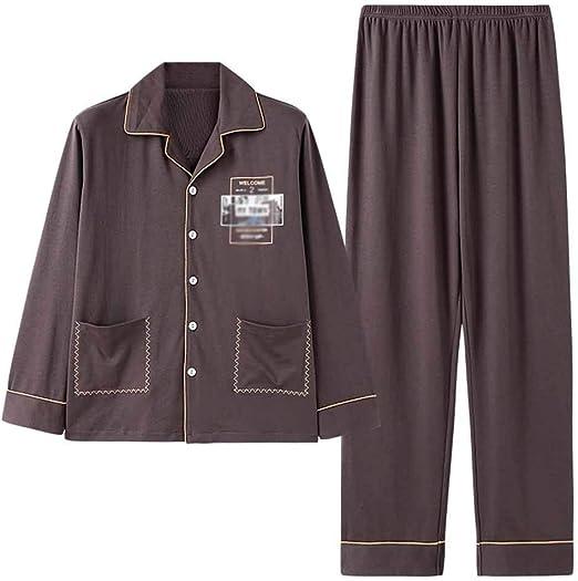 KYEEY Pijamas de Hombre Y los Hombres de Otoño Invierno Pijamas ...
