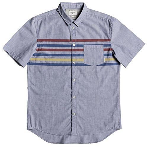 [해외]퀵실버 맨 포플린 버튼 셔츠/Quiksilver Men`s Popline Button Down Shirt