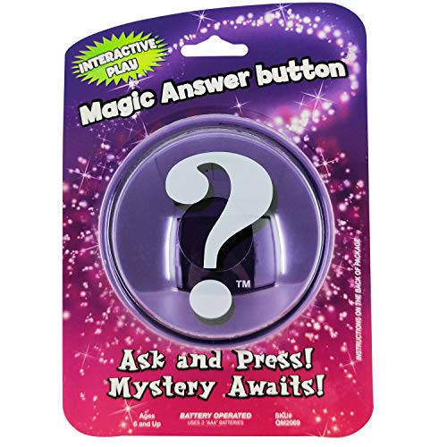 Magic Answer button - Fortune Telling Novelty Toy Fun! The Answers You Seek When The Button Speaks (World Best Riddles And Answers)