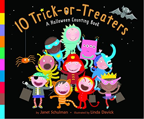 [10 Trick-or-Treaters] (Halloween 10)