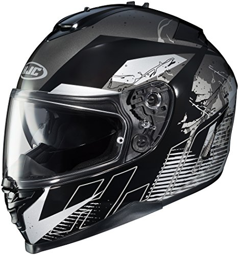 HJC Helmets IS-17 Blur Helmet (MC-5, Small)