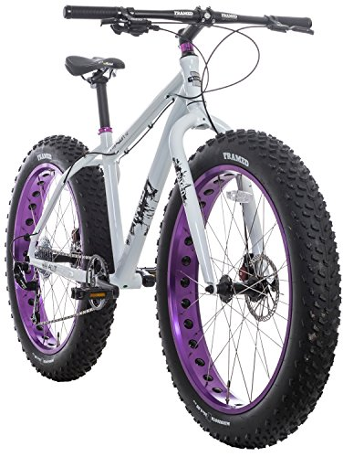 Framed Minnesota 1.0 Fat Bike White/Purple Womens Sz 17'