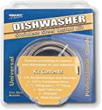 Smart Choice 5305516519 / B5305516519 6 ft Stainless-Steel Dishwasher Installation Kit