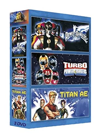 Power rangers;turbo power rangers;titan ae [Francia] [DVD]