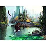 River Eagles Jigsaw Puzzle