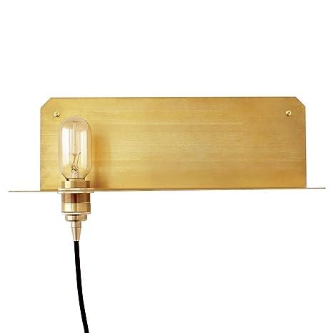 Applique Murale Lampe Murale En Laiton Scandinave Chambre à Coucher