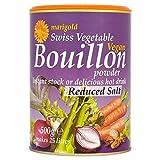 Marigold Swiss Vegetable Bouillon Reduced Salt Family 500g