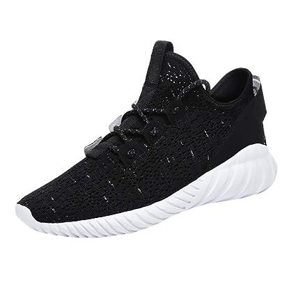 296858e5d0f Amazon.com: JJLIKER Mens Women Lightweight Sneakers Mesh Woven ...