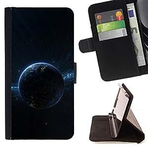 - Dark Planet Space/ Personalizada del estilo del dise???¡¯???¡Ào de la PU Caso de encargo del cuero del tir???¡¯????n del s - Cao - For Samsung Galaxy No