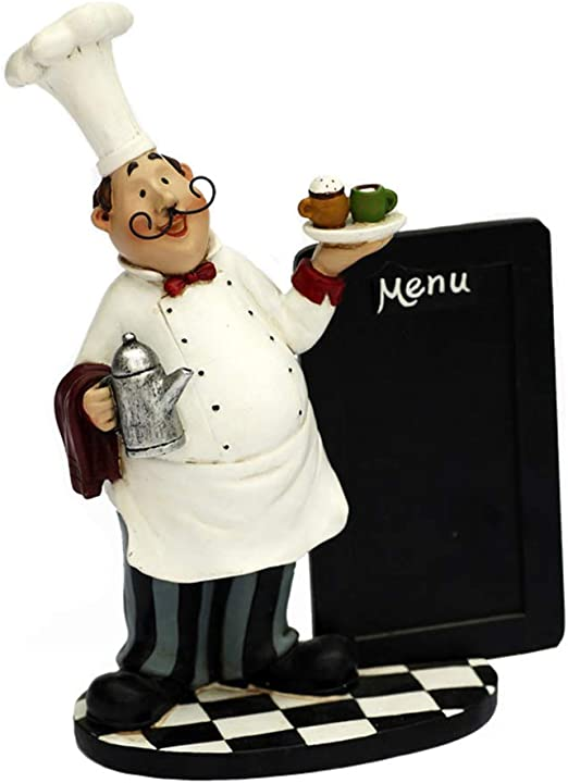 Chef Picture Fat Chef Kitchen Wall Hangings Decor Cook