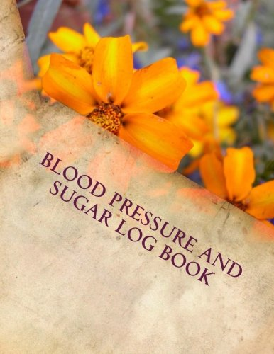 Blood Pressure and Sugar Log Book (Blood Pressure Diabetes compare prices)
