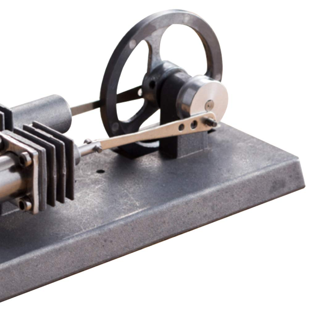 At27clekca QX6 DIY Assembly Low Temperature Stirling Engine Hot Power Generator Steam Heat Education Motor Physical Model Toy Kit by At27clekca (Image #7)