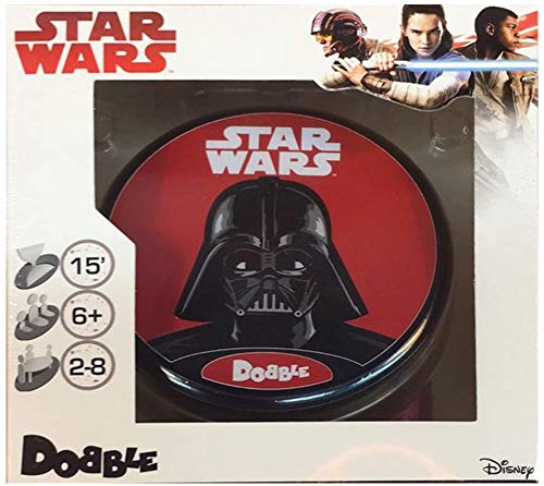 Espa/ñol Asmodee ASDOSW02 Dobble Star Wars Zygomatic