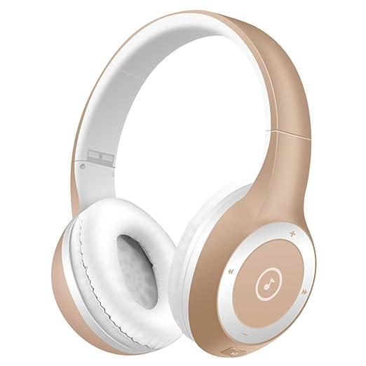 UMCCC Auriculares estéreo Auriculares Bluetooth HiFi Deporte ...