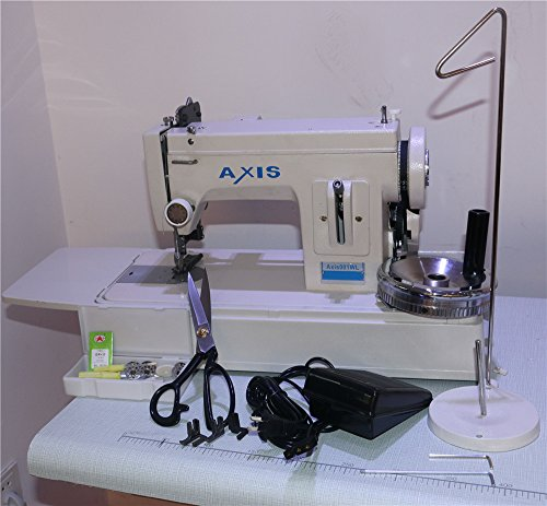 AXIS Straight Stitch Walking Foot Leather Upholstery Sewing Machine Cool Sewing Machine For Upholstery Fabric