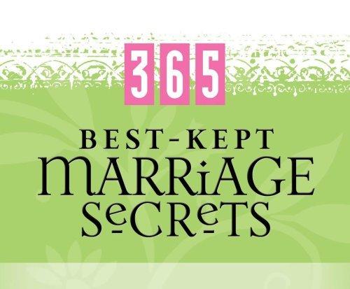 Perpetual Calendar 2009 (365 Best - Kept Marriage Secrets (365 Perpetual Calendars) by Barbour Publishing (2009-03-12))