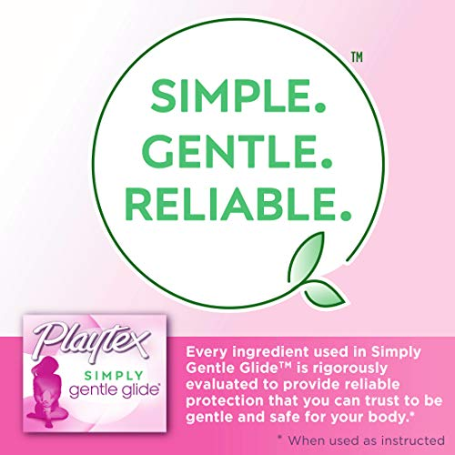 5 Playtex Multipack Unscented Absorbencies Packaging