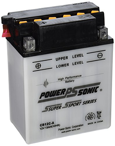 Power-Sonic CB12C-A Conventional Powersport (Conventional Powersport Battery)