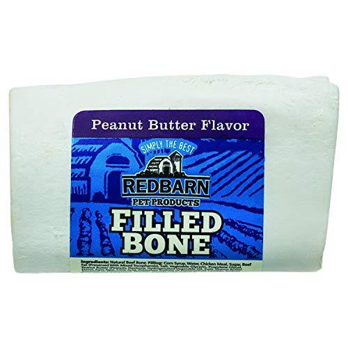 Redbarn Filled Bone Peanut Butter, Small 3-Inch