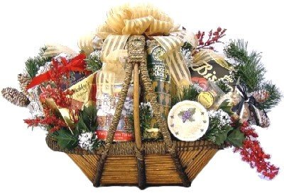 Gift Basket Village Holiday Splendor Gourmet Christmas Gift Basket by Gift Basket Village