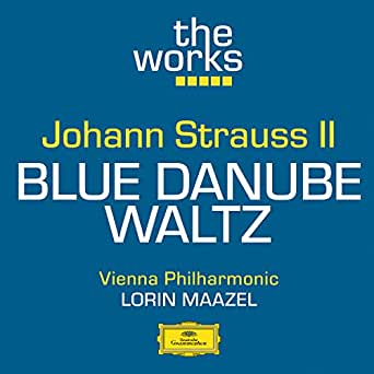 Strauss, jr. The blue danube sheet music for string quintet.