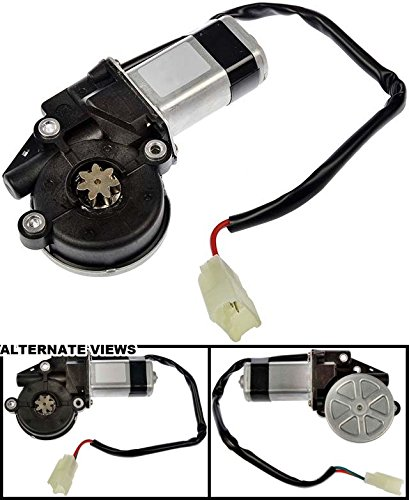 (APDTY 853717 Power Window Motor Fits USA Models Front Left or Rear Right 2003-2008 Pontiac Vibe 2002-2006 Toyota Camry 2003-2008 Corolla 2003-2008 Matrix (Replaces 88969905, 85710-AA050, 85710AA050))