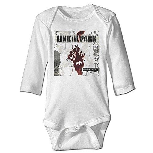 [Raymond Linkin Park-hybrid Theory Long Sleeve Bodysuit Baby Onesie White 6 M] (Infant Sylvester Costumes)