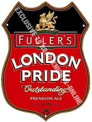 bar FULLERS METAL BEER SIGN 2 Sizes Available ideal for pub Man Cave