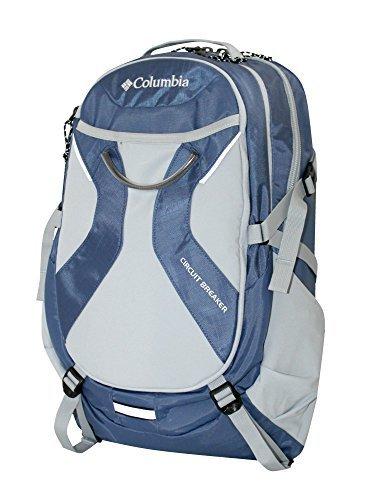 Columbia Circuit Breaker Backpack Daypack LAPTOP STUDENT BAG (Deluxe Padded Tom Bag)
