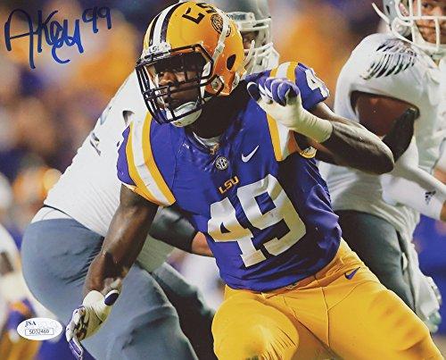 Arden Key #49 Signed Louisiana State LSU Tigers 8x10 Photo (JSA COA) JSA Signature - Store Arden