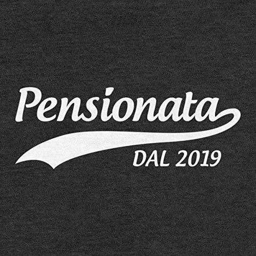 Lunghe Shirtgeil Maniche 2019 Pensionata Regalo A Donna Pensione Dal Nero Annuncio Maglia Da rqrfPCwU