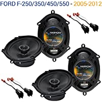 Ford F-250/350/450/550 2005-2012 OEM Speaker Upgrade Harmony (2) R68 Package New