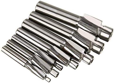 7Pcs M3-M12 Counterbore Milling Cutter High Speed Steel Pilot Slotting Tool End Mill Slot Drill Bit Set Tool