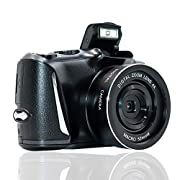 Digital Camera Full HD 2.7K/20FPS Vlogging Camera 48.0 Megapixels Full HD Camera with 4x Digital Zoom and 3.0 Inch…