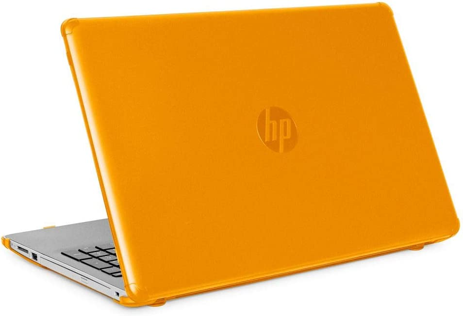 "mCover Hard Shell Case for New 2020 15.6"" HP 15-DYxxxx Series Notebook PC (Orange)"