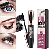 4D Silk Fiber Eyelash Mascara Waterproof Extension Makeup Black Cold Kit Eye Lashes set (1)