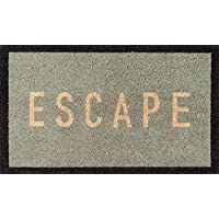 Novogratz Aloha Collection Escape Doormat, Blue, 16 x 26, Blue