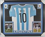 Autographed Lionel Messi Jersey - Framed Psa dna - Autographed Soccer Jerseys