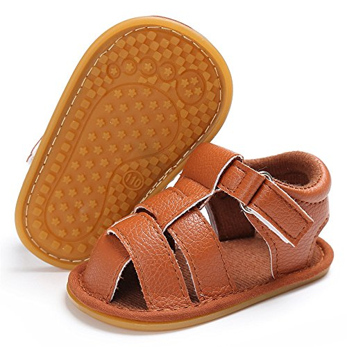 Save Beautiful Summer Baby Sandals Infant Boys Soft Sole Non-Slip First Walkers Shoes (4.33inches(0-6months), (Beautiful Summer Sandals)